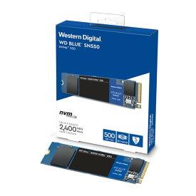 Western Digital WDS500G2B0C 500GB WD Blue SN550 NVMe SSD