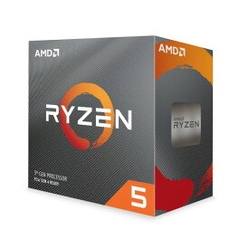 AMD Ryzen 5 3500 BOX 6コア / 6スレッド Base3.6GHz TB時4.1GHz