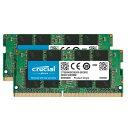 Crucial CT2K16G4SFD832A 16GB×2枚 DDR4-3200 SODIMM ノートPC用メモリ