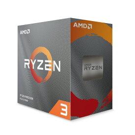 AMD Ryzen 3 3100 BOX 4コア/8スレッド リテールBOX CPU Socket AM4対応