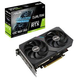 ASUS DUAL-RTX3060TI-O8G-MINI-V2 GeForce RTX 3060 Ti 搭載 グラフィックスカード
