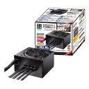 玄人志向 KRPW-BK650W/85+ 650W PC電源 セミプラグイン/80PLUS BRONZE取得