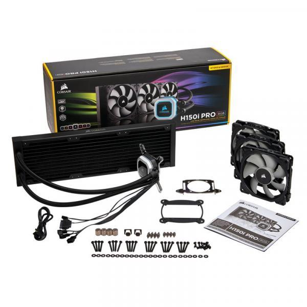 CORSAIR CW-9060031-WW H150i PRO RGB 360mmサイズ 水冷一体型CPUクーラー