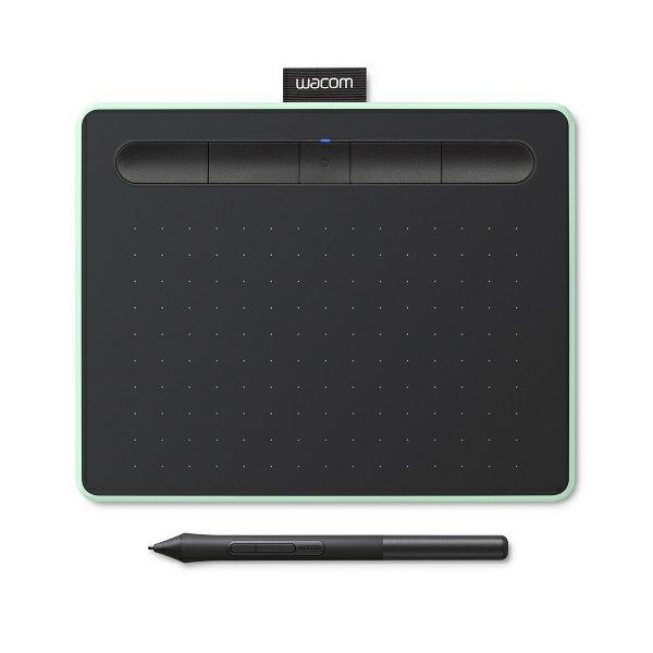 ワコム CTL-4100WL/E0 ペンタブレット Wacom Intuos Small ワイヤレス ピスタチオグリーン