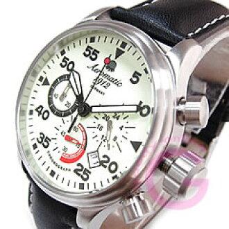 Aeromatic 1912 (aeromatic 1912) A1342 工作计时表盘完全光编辑军事男装手表