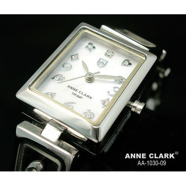 ANNE CLARK アンクラーク トランプ レディース マザーオブパール シルバー AA-1030-09/AA1030-09 腕時計