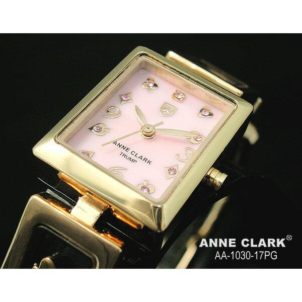ANNE CLARK アンクラーク トランプ レディース マザーオブパール ピンクゴールド AA-1030-17PG/AA1030-17PG 腕時計