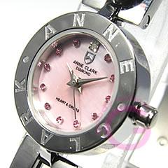 ANNE CLARK アンクラーク AM-1020-17/AM1020-17 ブレスタイプ マザーオブパール ダイヤモンド シルバー レディース 腕時計 【あす楽対応】