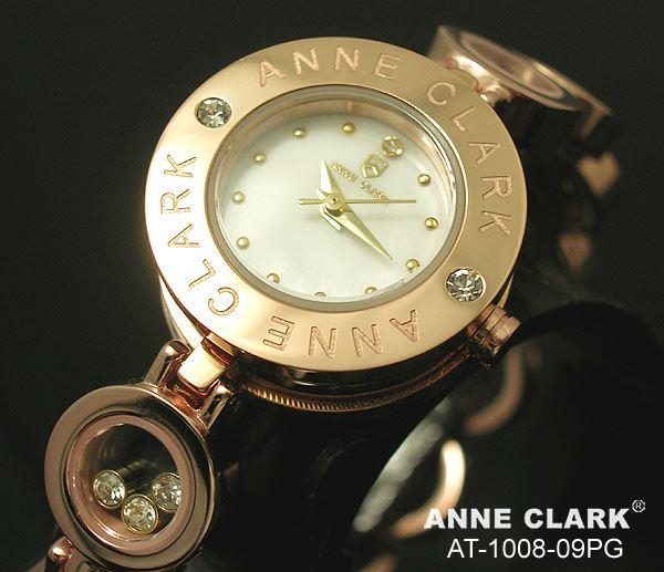ANNE CLARK アンクラーク AT-1008-09PG/AT1008-09PG ブレスタイプ ダイヤモンド ピンクゴールド レディース 腕時計 【あす楽対応】