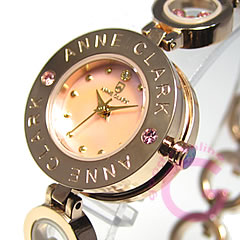 ANNE CLARK アンクラーク AT-1008-17PG/AT1008-17PG ブレスタイプ ダイヤモンド ピンクゴールド レディース 腕時計 【あす楽対応】