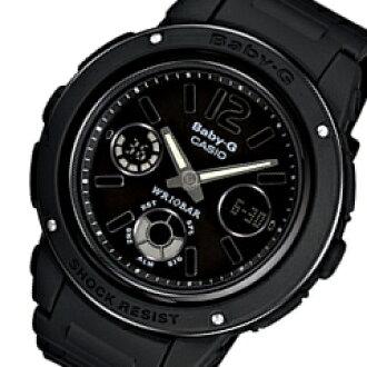 CASIO BABY-G(卡西欧婴儿G)BGA-151-1B/BGA151-1B anadejiburakkuredisuuotchi手表(日本版的型号:BGA-151-1BJF/BGA151-1BJF)