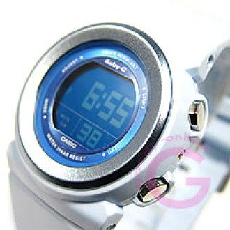 卡西欧宝贝 g (卡西欧宝贝 G) BGD-100-2/BGD100-2 夏天柔和光蓝色女式手表手表