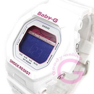 卡西欧宝宝-g (卡西欧宝宝 G) BLX-5600-7/BLX5600-7 G-立德潮图白色女士手表手表