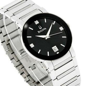 宝路华宝路华) 96 D 18 钻石装饰拨金属带的手表 (IA)