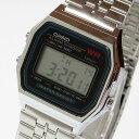 【メール便送料無料】 CASIO カシオ A-159W-N1D/A159W-N1D スタンダード デジタル メンズ クロノグラフ シルバー キッズ 子供 かわいい チープカシオ チプカシ 腕時計