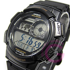 CASIO (カシオ) AE-1000W-1A/AE1000W-1A スポーツ ワールドタイム搭載 キッズ・子供 かわいい! メンズウォッチ チープカシオ 腕時計 【あす楽対応】