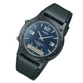 CASIO カシオ AW-49HE-2A/AW49HE-2A ベーシック アナデジ ラウンド ブルー キッズ 子供 かわいい ユニセックス チープカシオ チプカシ 腕時計