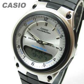 CASIO カシオ AW-80-7A/AW80-7A ベーシック アナデジ ホワイト キッズ 子供 かわいい メンズ チープカシオ チプカシ 腕時計