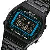 卡西欧 (卡西欧) B-640WB-2B/B640WB-2B 基本数字银金属腰带黑色 × 蓝色拨孩子/孩子们的可爱! 男女皆宜的手表便宜卡西欧手表