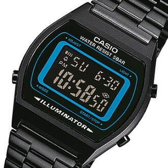 CASIO (CASIO) B-640WB-2B/B640WB-2B basic digital metal belt black × blue dial kids and children recommended! Cute! Unisex Watch watches