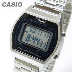 CASIO カシオ B-640WD-1A/B640WD-1A ベーシック デジタル メタルベルト シルバー キッズ 子供 かわいい ユニセックス チープカシオ チプカシ 腕時計 【あす楽対応】