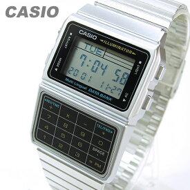 CASIO DATA BANK (カシオ データバンク) DBC-611-1/DBC611-1 テレメモ 計算機/電卓 シルバー キッズ 子供 かわいい ユニセックス チープカシオ チプカシ 腕時計
