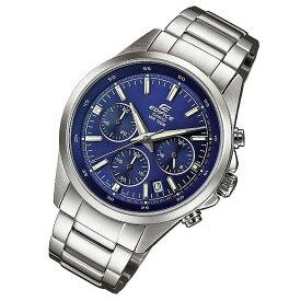 CASIO EDIFICE カシオ エディフィス EFR-527D-2A/EFR527D-2A クロノグラフ ブルーダイアル メタルベルト シルバー メンズ 海外モデル 腕時計