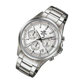 CASIO EDIFICE カシオ エディフィス EFR-527D-7A/EFR527D-7A クロノグラフ シルバーダイアル メタルベルト シルバー メンズ 海外モデル 腕時計