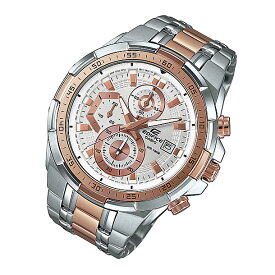 CASIO EDIFICE(カシオ エディフィス) EFR-539SG-7A5/EFR539SG-7A5 クロノグラフ メタルベルト ゴールド×シルバー コンビ メンズウォッチ 海外モデル 腕時計
