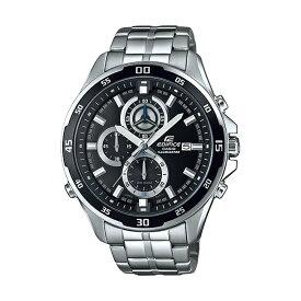 CASIO EDIFICE カシオ エディフィス EFR-547D-1A/EFR547D-1A クロノグラフ ブラックダイアル メタルベルト シルバー メンズ 海外モデル 腕時計