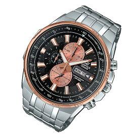 CASIO EDIFICE カシオ エディフィス EFR-549D-1B9/EFR549D-1B9 クロノグラフ ブラックダイアル メタルベルト ゴールド シルバー コンビ メンズ 海外モデル 腕時計