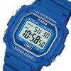 CASIO (Casio) F-108WH-2A/F108WH-2A standard digital blue men / unisex watch watch