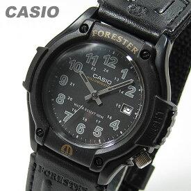 CASIO カシオ FORESTER/フォレスター FT-500WC-1B/FT500WC-1B ミリタリーテイストナイロンベルト ブラック キッズ 子供 メンズ チープカシオ チプカシ 腕時計 【あす楽対応】