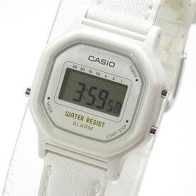 CASIO カシオ LA-11WL-7A/LA11WL-7A ベーシック デジタル ホワイト キッズ 子供 かわいいレディース チープカシオ チプカシ 腕時計【あす楽対応】
