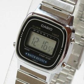 CASIO カシオ シンプルデジタル LA-670WA-1UW/LA670WA-1UW シルバー キッズ 子供 かわいい レディース チープカシオ チプカシ 腕時計 【あす楽対応】
