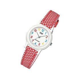 CASIO カシオ LQ-139LB-4B/LQ139LB-4B ベーシック レッド キッズ 子供 かわいい レディース チープカシオ チプカシ 腕時計