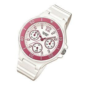 CASIO カシオ LRW-250H-4A/LRW250H-4A インダイアルカレンダー ピンク キッズ 子供 かわいい レディース チープカシオ チプカシ 腕時計 【あす楽対応】