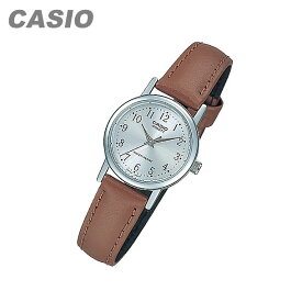 CASIO カシオ LTP-1095E-7B/LTP1095E-7B ベーシック アナログ ブラウン/シルバー キッズ 子供 かわいい レディース チープカシオ チプカシ 腕時計 【あす楽対応】