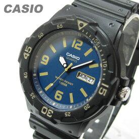 CASIO カシオ MRW-200H-2B3/MRW200H-2B3 スポーツギア ミリタリーテイスト ブルーダイアル ペアモデル キッズ 子供 かわいい メンズ チープカシオ チプカシ 腕時計
