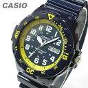 【メール便送料無料】CASIO (カシオ) MRW-200HC-2B/MRW200HC-2B スポーツギア ミリタリーテイスト ネイビー×イエ…