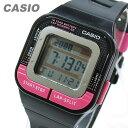 【メール便送料無料】 CASIO カシオ SDB-100-1B/SDB100-1B スポーツギア デジタル ピンク/ブラック キッズ 子供 かわいい ユニセックス チープカシオ チプカシ 腕時計