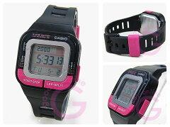 CASIO(カシオ)SDB-100-1B/SDB100-1Bスポーツギアデジタルピンク×ブラックキッズ・子供にオススメ!かわいい!ユニセックスウォッチチープカシオ腕時計