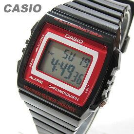 CASIO カシオ W-215H-1A2/W215H-1A2 ベーシック デジタル ブラック/レッド キッズ 子供 かわいい メンズ チープカシオ チプカシ 腕時計【あす楽対応】