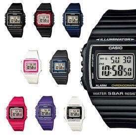 【CASIO カシオ W-215H シリーズ 全8種】 W-215H-1A W-215H-1A2 W-215H-2A W-215H-4A W-215H-6A W-215H-7A W-215H-7A2 W-215H-8A ベーシック デジタル キッズ 子供 かわいい メンズ チープカシオ チプカシ チプカシ 腕時計