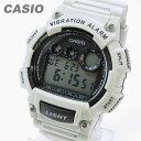 CASIO カシオ W-735H-8A2/W735H-8A2 スポーツ デジタル ベージュ キッズ 子供 かわいい メンズ チープカシオ チプカシ 腕時計