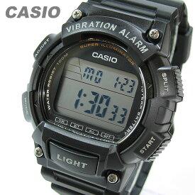 CASIO カシオ W-736H-1A/W736H-1A スポーツ デジタル ブラック キッズ 子供 かわいい メンズ チープカシオ チプカシ 腕時計 【あす楽対応】