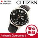 CITIZEN(シチズン) BF2007-08E レザーベルト ブラックダイアル メンズウォッチ チープシチズン チプシチ 腕時計