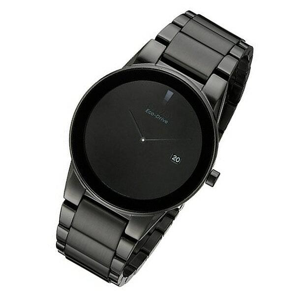 CITIZEN(シチズン) AU1065-58E Eco-Drive/エコドライブ オールブラック ステンレスベルト メンズウォッチ ソーラー 腕時計 【あす楽対応】