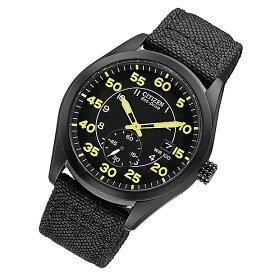 CITIZEN (シチズン) BV1085-14E Eco-Drive/エコドライブ ナイロンベルト ブラックダイアル メンズウォッチ 腕時計 【あす楽対応】