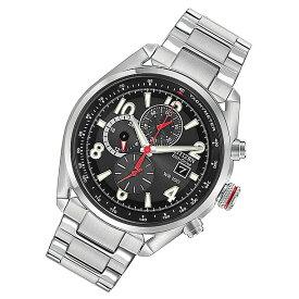 CITIZEN(シチズン) CA0368-56E Eco-Drive/エコドライブ クロノグラフ ブラック メタルベルト メンズウォッチ 腕時計 【あす楽対応】